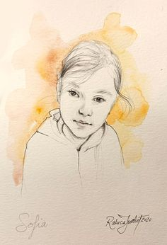 This is a custom made illustration portrait, hand painted on very good quality paper, that it will be shipped or emailed to you. Just upload your photo and then choose the size and number of people in the photo. Ex.: You can choose 3 people and  A3 size. Now you can click the add to cart button. Watercolor Portraits, Watercolor And Ink, A3 Size, Cart, Hand Painted, Number, Button, Paper, Illustration