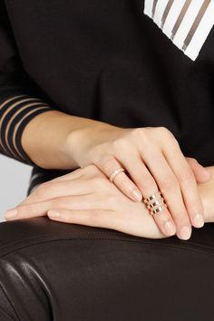 Repossi | Berbère 18-karat rose gold phalanx ring | NET-A-PORTER.COM