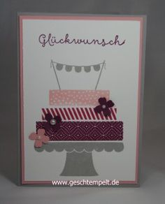 Stampin up Build a Birthday
