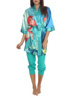 Disney The Little Mermaid Satin Robe | Hot Topic