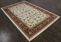 TRADITIONAL PERSIAN DIMOND RUG 9.8X6.6FT RED ORIENTAL RUGS CARPET A2ZRUG: Amazon.co.uk: Kitchen & Home