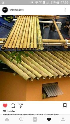 Hinterhof garten Oase magnificent ideas for the vegetable garden architecture, Jardin Style Shabby Chic, Estilo Shabby Chic, Bamboo Roof, Bamboo House, Architecture Design Concept, Garden Architecture, Garden Care, Small Gardens, Outdoor Gardens