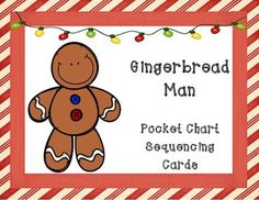 The Gingerbread Man: Sequencing Cards and Writing Activities by Cindy Calenti Sequencing Cards, Sequencing Activities, Writing Activities, Teaching Resources, Winter Activities, Gingerbread Man Story, Gingerbread Man Activities, Gingerbread Man Kindergarten, Preschool Christmas