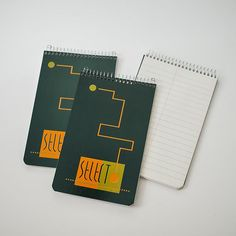 Vintage Mexican 'Select' Green Note Pad