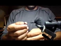 Tying a Black Wooly Bugger