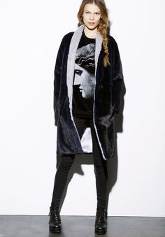 Byte by Giuliana Teso Ranch Mink Fur Coat