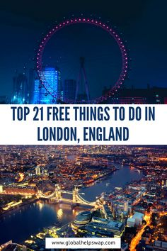 Visit to London, England? It's an ultimate list of amazing things to do in London for first-time visitors that are Totally Free! London offers many free things to do for both tourists and locals alike Europe Destinations, Europe Travel Tips, European Travel, Travel Advice, Travel Guides, Travel English, Travel Hacks, Travel Essentials, Budget Travel