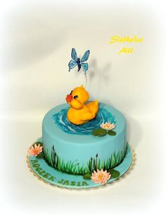Duck cake - Cake by Alll