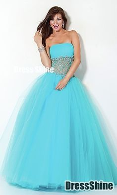 I like this - Ball Gown Sweetheart Neckline Tulle Prom Dress. Do you think I should buy it?