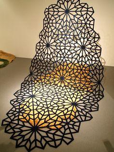 Yuko & Noriko Nakayama's 'Floating Pattern Carpet' in collaboration with Antron Carpet design