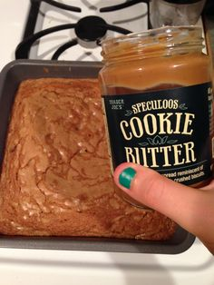 Speculous Cookie Butter Blondies