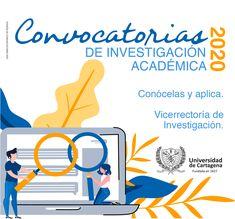 Aplica a nuestras Convocatorias de Investigación. #Unicartagena #Investigación Investigations, Summoning, Cartagena, Universe