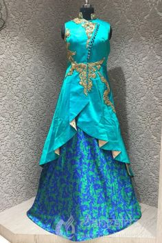 http://www.mangaldeep.co.in/lehengas/sprited-aqua-blue-in-readymade-designer-partywear-indowestern-suit-8085 For more information :- Call us @ +919377222211 (Whatsapp Available)