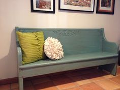 She luvs 2 craft: Amish Church Pew.... Upcycled!