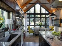 pictures of mountain house kitchens - Yahoo Image Search Results