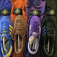 A match made in terrace heaven Football Casual Clothing, Football Casuals, Football Fashion, Stone Island Hooligan, Adidas Fashion, Mens Fashion, Adidas Casual Shoes, Adidas Retro, Vintage Adidas