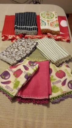 Secadores con terminaciones a crochet