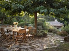 Provence - living outside
