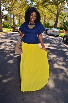 Another Maxi with cute ways to wear it!