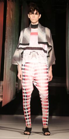Kimono Antar Tshirt Ping Pant Trenza Necklace Sandals #Tramando #SS16