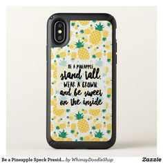 Be a Pineapple Speck Presidio iPhone X Case