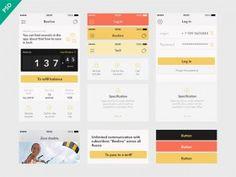 UI Kit Beeline app