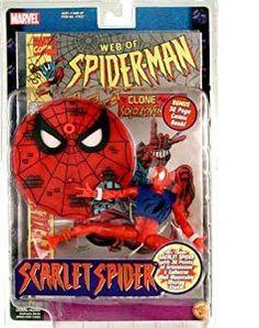 Ben Reilly, Scarlet Spider, Red Team, Marvel Legends, Comic Books Art, Marvel Universe, Spiderman, Action Figures, Comics