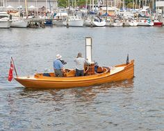 Australian Wooden Boat Festival. | Little steam launch sails… | Flickr