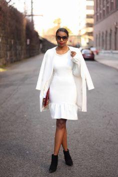 DIY Little White Dress