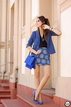 Look du jour: Mandala Blue    por Flávia Linden | Fashion coolture       - http://modatrade.com.br/look-du-jour-mandala-blue