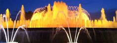 Magic Fountain of Montjuïc. The light show and music of Montjuïc fountain is one of the most interesting sights. Information about 2017 showtimes.
