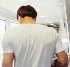 Kai's shoulders are delicious