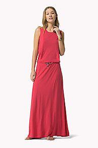 Vestido Largo Con Panel es lo más destacado de la temporada: recién llegado de la colección de vestidos para mujer de Tommy Hilfiger. Devolución gratuita.