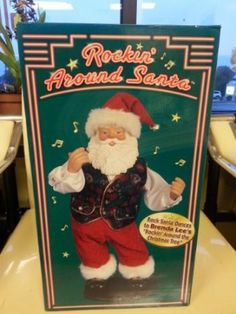 Rockin' Santa -- A little Christmas fun!
