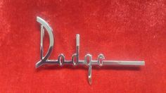 1960 DODGE SENECA PIONEER PHOENIX TRUNK LID NAMEPLATE REPRODUCTION
