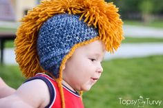 I had so much fun creating this crochet mohawk hat pattern free for anyone. I made it in every size and i hope you all love it as much as my kids do.