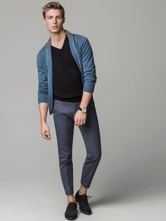 STRUCTURED TROUSERS - Massimo Dutti
