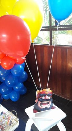 Royal Party, 26th Birthday, Clash Of Clans, Party Themes, Cake, House Party, Ideas Party, Party Finger Foods, Manualidades
