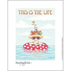 Mary Engelbreit's fine print, The Life.
