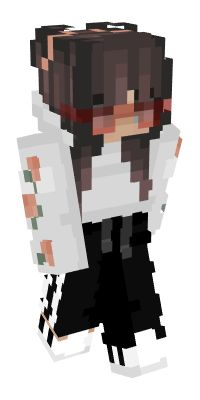 Check out our list of the best EGirl Minecraft skins. Minecraft Designs, Cool Minecraft, Minecraft Buildings, Minecraft Skins Hair, Skin Mine, Capas Minecraft, Minecraft Skins Aesthetic, Mc Skins, Minecraft Characters