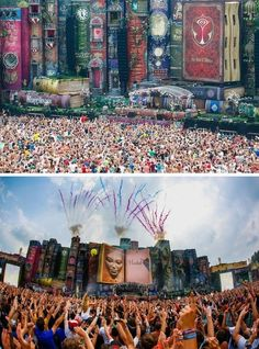 Tomorrowland music festival, Belgium! Can't wait to experience this awesomeness this sept. in the states!
