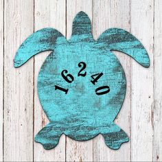 House Number - Address Number - House Numbers - Coastal Door Numbers Sign - Turtle House Number Plaque - Custom Home Address Sign Door Number Sign, House Number Plaque, Door Numbers, Address Numbers, House Numbers, House Address Sign, Address Plaque, Current Picture, Beach Cottage Decor