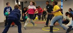 I counted 29 different game and activity ideas listed on this Playworks page. Even better, the games have been sorted by playing environment from cafeteria, to gym, to hallway, and classroom. If you're not familiar with all of the games, there are links on this page that take you to detailed instructions for set-up and play.