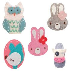 Giddy Giddy Hair Clip | Owl, Bunny, Deer or Cow from Milk Tooth  #easter #eastergifts #eastergiftideas