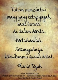 Quotrs Mario teguh