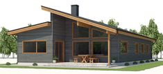 Modern Sip House Plans Best Of We Like the Design and Option for Clerestory Windows and A Small Modern House Plans, Open House Plans, Contemporary House Plans, Dream House Plans, Pole House, House Roof, A Frame Cabin Plans, Sip House, Resort Plan