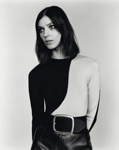 Kati Nescher shot by Alasdair McLellan and styled by Suzanne Koller for Self Service ss 2012.