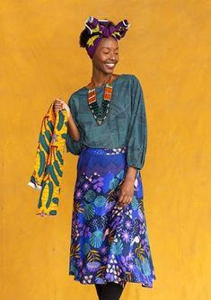 Afrika – mixa med mönster – Gudrun Sjödén