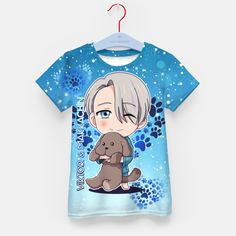 Yuri On Ice Chibi Viktor  Kid's T-shirt