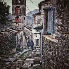 Dílofo, Ioannina, Greece #dilofos #zagorochoria #zagori #epirus #ioannina #loves_greece_